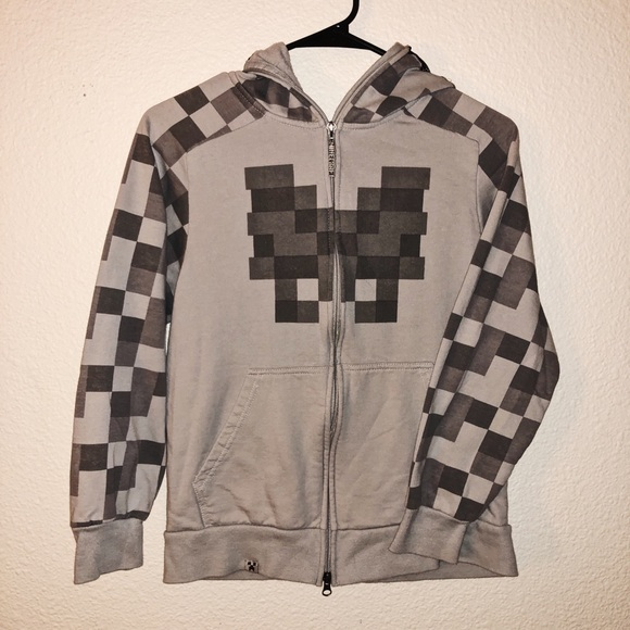 fcf34da69c4 Jinx Other - Minecraft full zip up hoodie